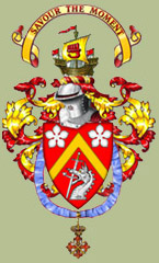 The Coat of Arms of John A. Duncan of Sketraw, KCN, FSA Scot.