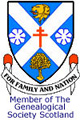 Member of the  Genealogical Society of Scotland