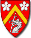 Arms of John Alexander Duncan of Sketraw, KCN, FSA Scot. Click for full achievement of arms