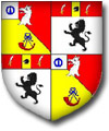 Arms of Col. Sir Alan Gomme Gomme-Duncan of Dunbarney 1956