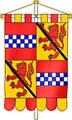 Gonfannon of Robert Lindsay Earl of Crawford & Balcarres