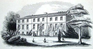 Gayton Hall, The Wirral, Cheshire home of David Duncan