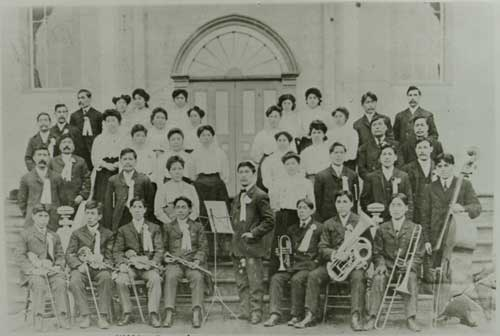 William Duncan's Christian Church Choir, 1909