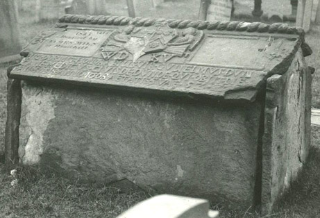 William Duncan's Tomb, The Howff Cemetery, Dundee 1887