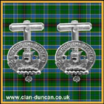 Duncan Crest Cuff Links - Click for Larger Image