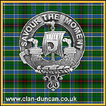 Duncan Crest Badge - Click for Larger Image