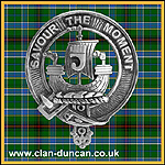 Duncan Crest Badge Large - Click for Larger Image