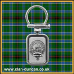 Duncan Crest Key Ring - Click for Larger Image