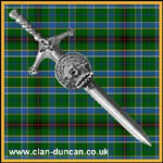 Duncan Crest Kilt Pin Large - Click for Larger Image