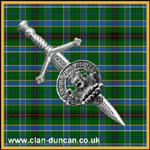 Duncan Crest Kilt Pin Small - Click for Larger Image