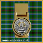 Duncan Crest Money Clip - Click for Larger Image