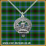 Duncan Crest Pendant - Click for Larger Image