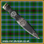 Duncan Crest Sgian Dubh - Click for Larger Image