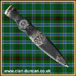 Duncan Crest Sgian Dubh - Click for Larger Image