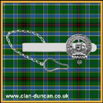 Duncan Crest Tie Clip - Click for Larger Image