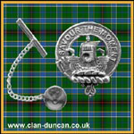 Duncan Crest Tie Tack - Lapel Pin - Click for Larger Image