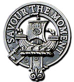 Duncan Crest Bonnet-Cap Badge - Click for Larger Image